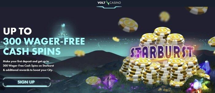 Volt casino bonus